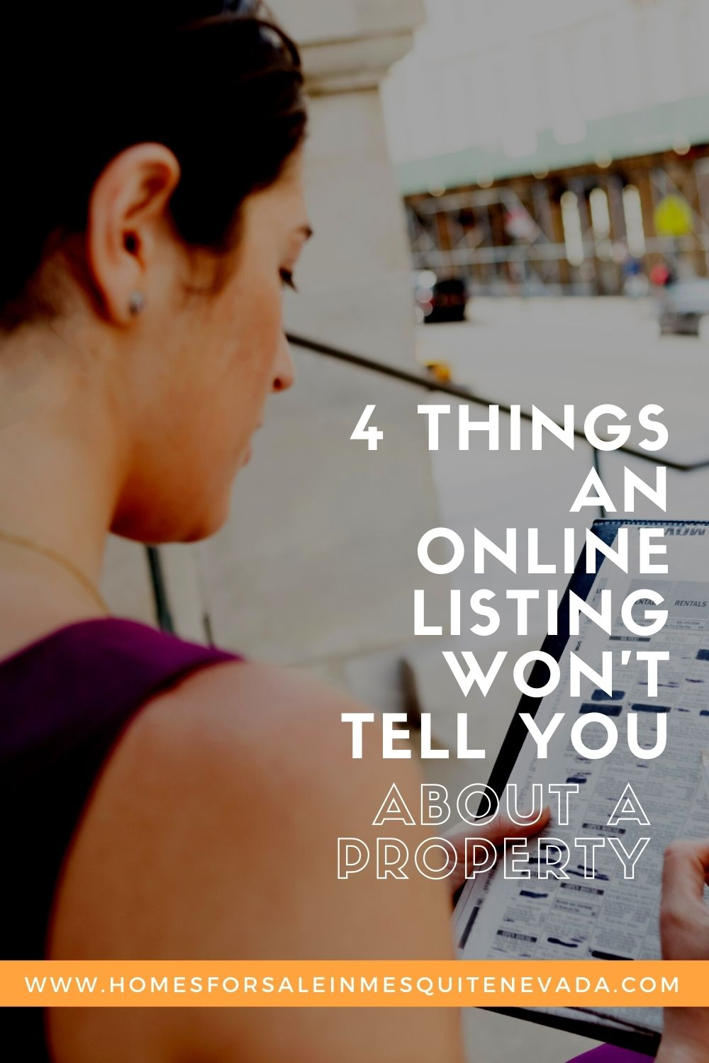 4 Things an Online Listing Won't Tell You About a Property