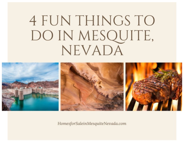 4 Fun Things to Do in Mesquite Nevada