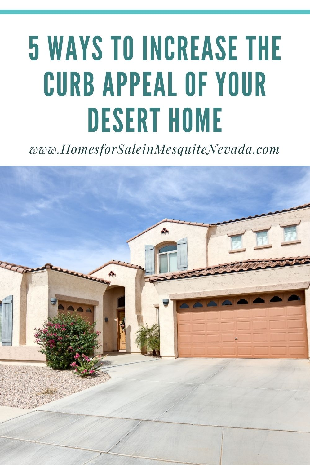 5 ways to increase the Curb Appeal of your Desert Home