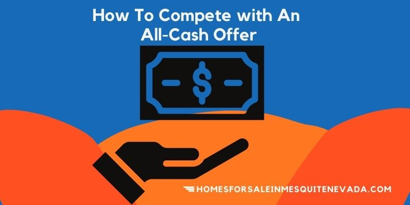 How to compete with a all cash offer